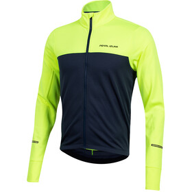 PEARL iZUMi Quest Thermische Longsleeve Jersey Heren, screaming yellow/navy